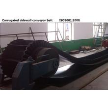 XE-Sc-800 / 4 + 1 flanc ondulé bande transporteuse en caoutchouc