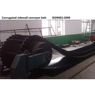 Xe-Sc-800/4+1 Sidewall Corrugated Rubber Conveyor Belt