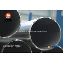 ASME SB423 926 Incoloy tubo DIN 17458 tubo sem costura