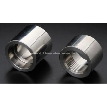 BS3799 acoplamento de tubo roscado com encaixe forjado A182 F321 / F321h