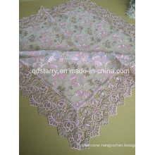 St16-25 Pink Color Lace Tableclothes