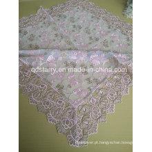 Toalhas de mesa de renda cor rosa St16-25