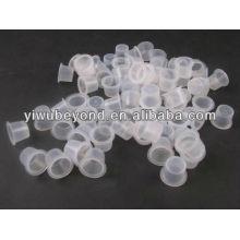 Professional Tattoo Pigment Ink Cups Caps Fournitures en plastique