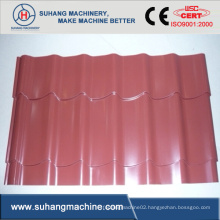 Fully Automatic High Speed Step-Tile Roof Roll Forming Machine