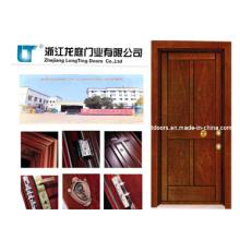 En bois de Style turc en acier blindé porte