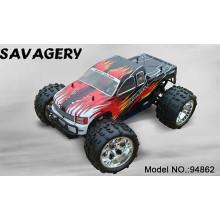 Carro movido a gás de RC 94862 Hsp1: 8 Movido a gasolina RC Carros Sh18 Velocidade do motor até 60-70 km / h