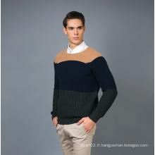 Pull à la mode en cachemire pour hommes 17brpv078