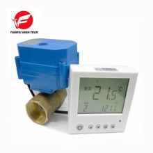 brass digital thermostatic valve