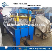 Toit en métal Round Ridge Cap Roll Machine formant / Angle Ridge Cap Rollforming Making Machine Price