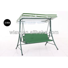 three people swing chair with canopy