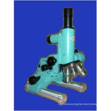 Sm3 Portable Upright Metallographic Microscope 50x-1000x Microscope Led Lighting