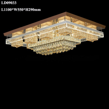 Crystal chandelier remote control led chandelier