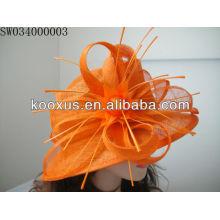 Sombrero sinamay hecho a mano de la iglesia hecho en China