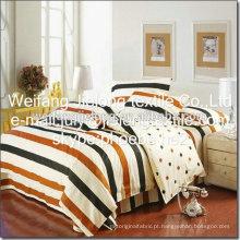shandong weifang china 100% algodão impresso tecido para folha de cama
