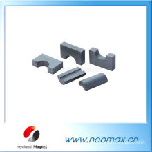 Special shape ceramic magnets