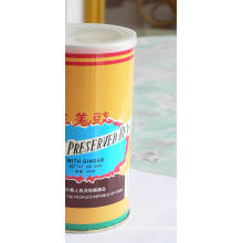 500 г соленой черной фасоли с консервированным имбирем