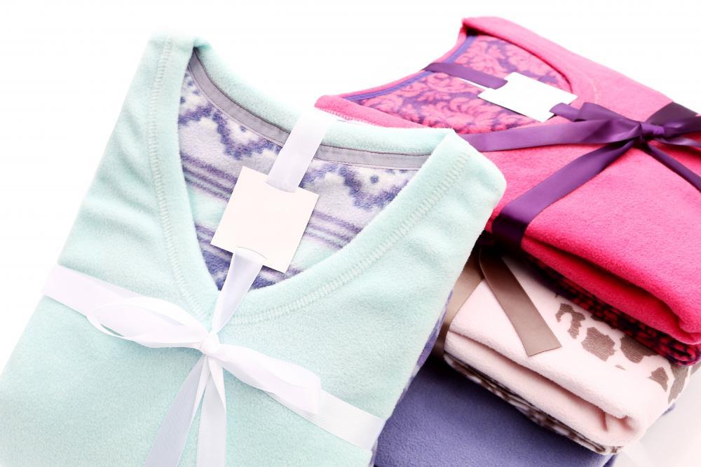 Ladies polar fleece pajamas