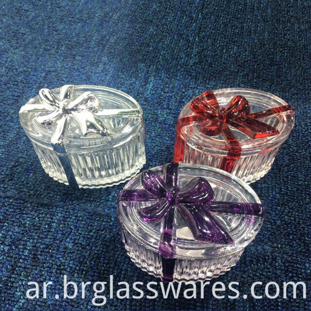 Luxury New Glass Ribbon Trinket Pic