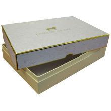 Caixa de embalagem de couro Jewellry de luxo e qualidade de 2017
