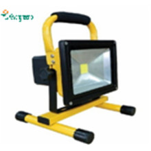 New 12V 24V10W Rechargeable & Portable LED Outdoor Lighting Camping Solar Floodlight