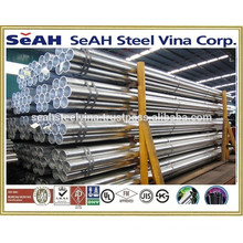 "1""""-8"""" Galvanised steel pipe to JIS 3466, JIS 3444 and various standards exported to Thailand market"