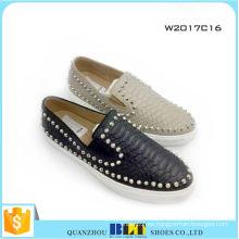 Zapatos casuales cómodos de las mujeres al por mayor de la marca