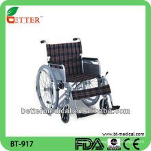 Chaise roulante durable en aluminium