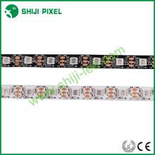 Luz endereçável DMX SJ1211 do pixel da tira do diodo emissor de luz de 12V RGB