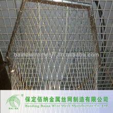 Malla de cable de diamante de acero inoxidable 316 decorativo