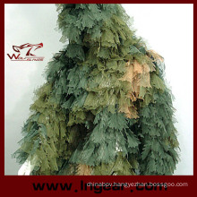 Camouflage Clothing Ghillie Suit Leaf Ghillie Suit for Sniper Hunting Suit