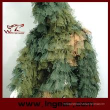 Camuflaje ropa Ghillie Suit hoja Traje Suit Ghilies para francotirador juego de caza