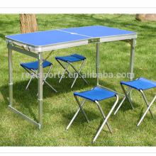 Portable Klapptisch und Stuhl Set Hot Sale Klapptisch Möbel