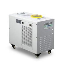 High efficiency CW5000 0.3HP 1100W cooling water chiller industrial cooler machine for induction heating