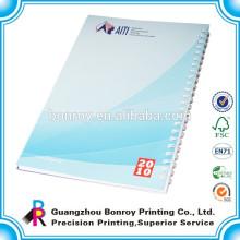 Billiges kundenspezifisches Massenspiralennotizbuch a4