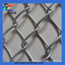 Clôture résistante galvanisée résistante de lien de chaîne (CT-52)
