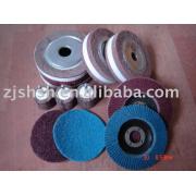 chuck flap wheel/abrasive product/abrasive tool