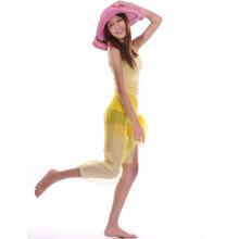 Solid Color Chiffon Beach Sarong
