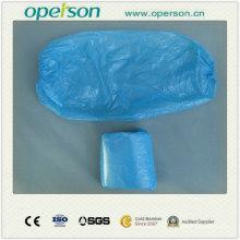 Housse de chaussure en plastique pour protection environnementale jetable