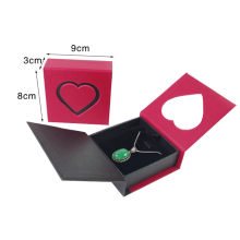 Custom Magnetic Closure Paper Pendant Packaging Box