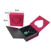 Boîte d'emballage de pendentif en papier à fermeture magnétique personnalisée