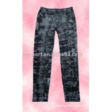 Mode féminine Pantalon d'impression sans couture