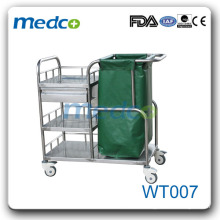 WT007 Best price for hospital dressing trolley