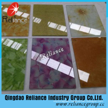 10.76mm Silk Laminated Glass/Tinted Laminated Glass