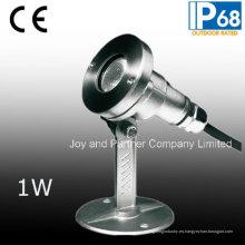 12V mini luz subacuática del punto de 1W LED (JP95311)