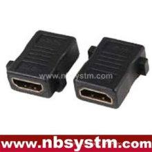 Adaptador de painel fêmea para fêmea do tipo HDMI A