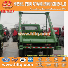 DONGFENG 170hp arm roll garbage truck for sale skip garbage truck sanitation vehicle 8cbm 4x2 professional production in China