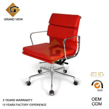 Grünem Leder Aluminium Hotel Büro Stuhl (GV-EA217)