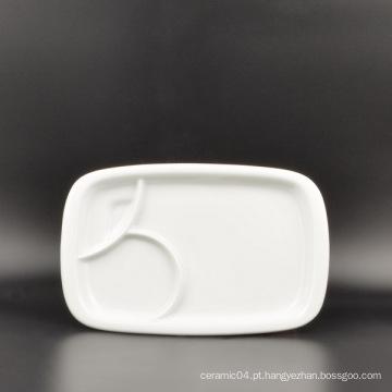 Prato de Porcelana Personalizado em Fábrica China