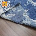 Tissu de broderie en coton imprimé africain personnalisé le plus récent