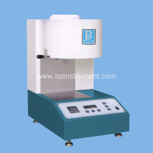 Melt flow rate tester
